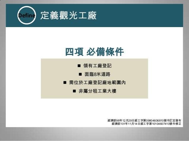 觀光+工廠:遊程體驗設計研究初探 Slide 2