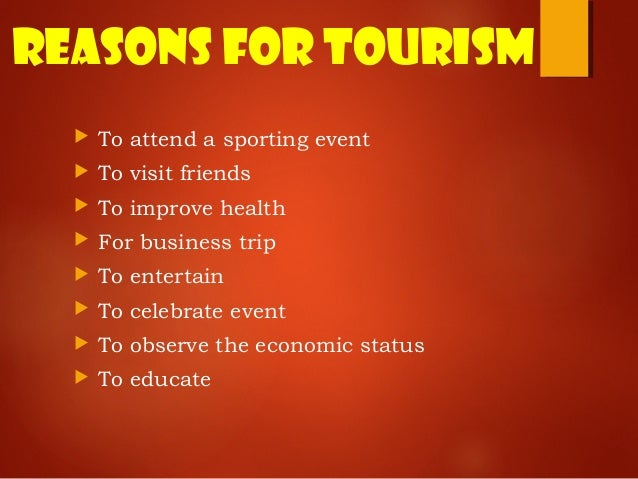 role of geography in tourism