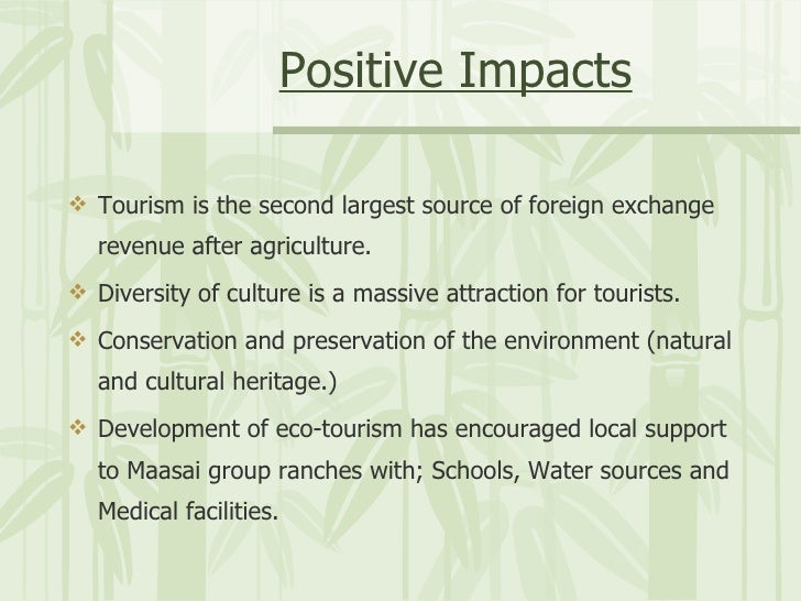 The Impact Of Mass Tourism