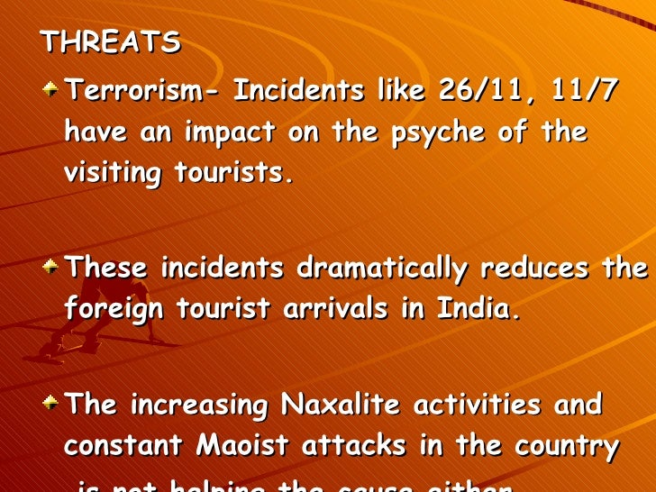 problems faced by tourism industry in india