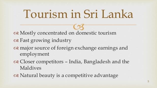 advantages of tourism in sri lanka