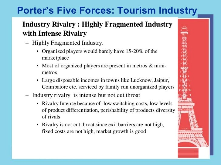 porters 5 forces for the european tourism industry