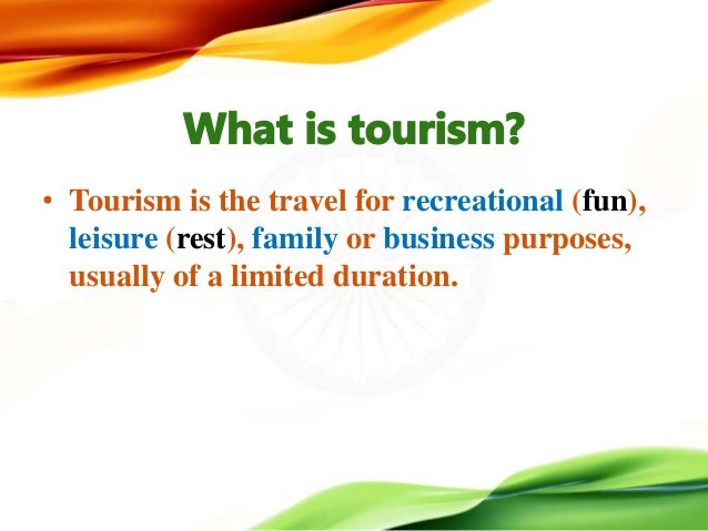 travel and tourism in india essay