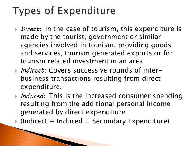 Tourism multipliers