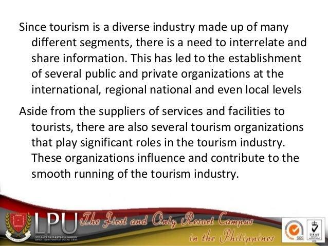 Tourism Organizations Slide 3