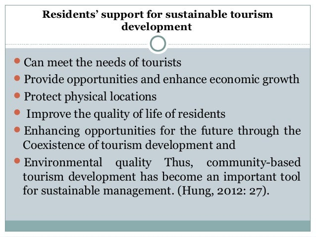 an analysis of eco tourism development tourism essay A recent publication on eco-tourism planning in alaska states that similar analysis and planning are needed to ensure the eco-tourism is compatible with the way of .