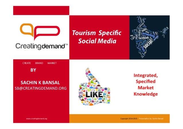 Tourism Specific Social Media