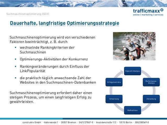 construktiv GmbH ·Haferwende 1 · 28357 Bremen · 0421/27867-0 · Invalidenstraße 112 · 10115 Berlin · 030/200569-0 Suchmasch...