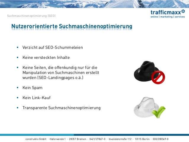 construktiv GmbH ·Haferwende 1 · 28357 Bremen · 0421/27867-0 · Invalidenstraße 112 · 10115 Berlin · 030/200569-0  Verzich...