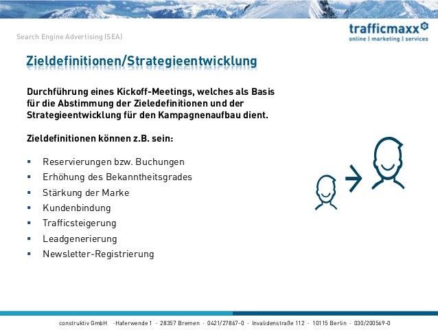 construktiv GmbH ·Haferwende 1 · 28357 Bremen · 0421/27867-0 · Invalidenstraße 112 · 10115 Berlin · 030/200569-0 Durchführ...