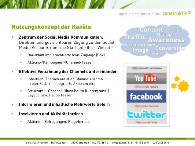 construktiv GmbH · Haferwende 1 · 28357 Bremen · 0421/27867-0 · Invalidenstr. 112· 10115 Berlin · 030/200569-0 agentur für...