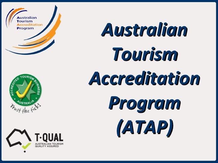 Australian Tourism Accreditation Program (ATAP)