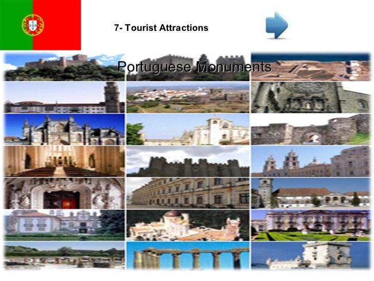 7- Tourist Attractions Portuguese Monuments
