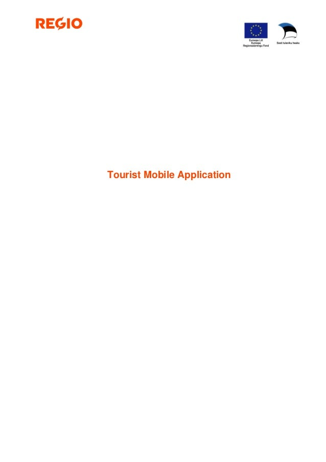 Tourist Mobile Application