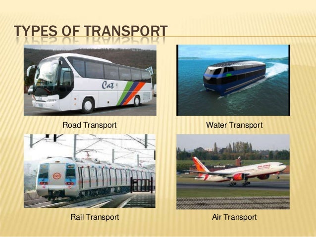 MODES OF TRANSPORT IN INDIA PDF DOWNLOAD