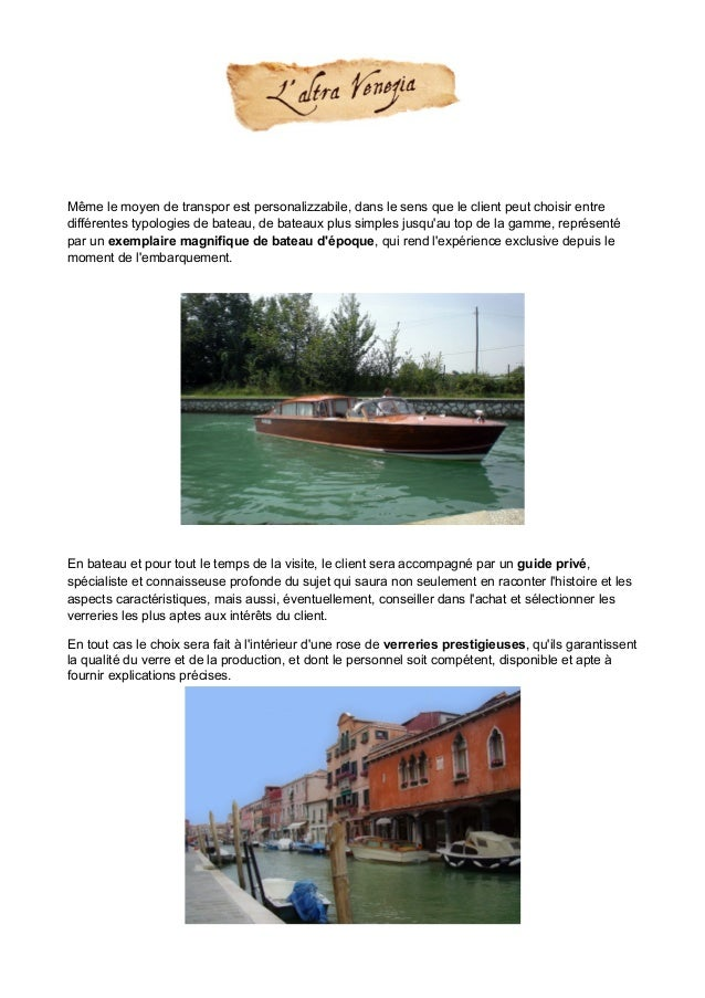 Tour Murano exclusif Slide 2