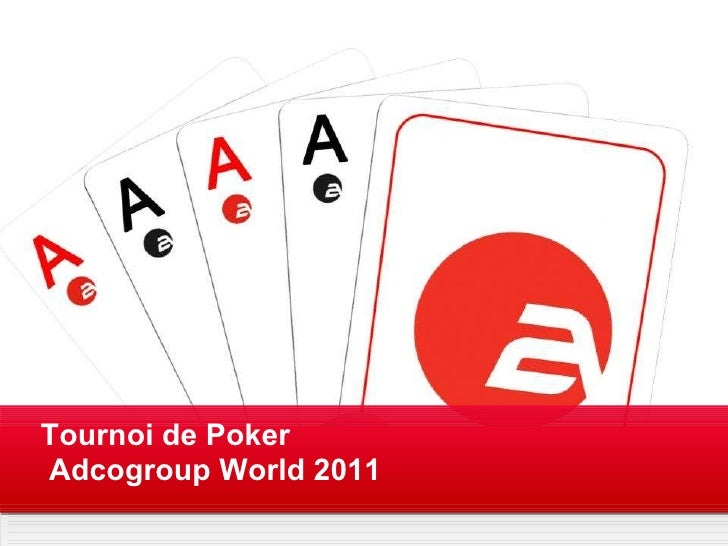Your own sub headline  This is an example text Your Logo Tournoi de Poker Adcogroup World 2011