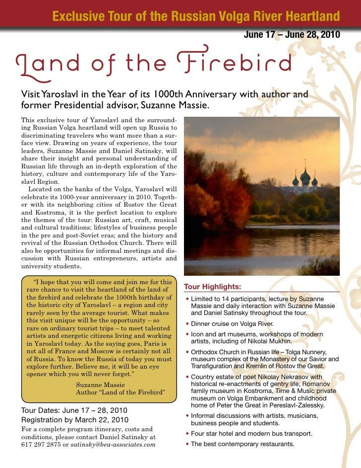 Exclusive Tour of the Russian Volga River Heartland                                                                       ...