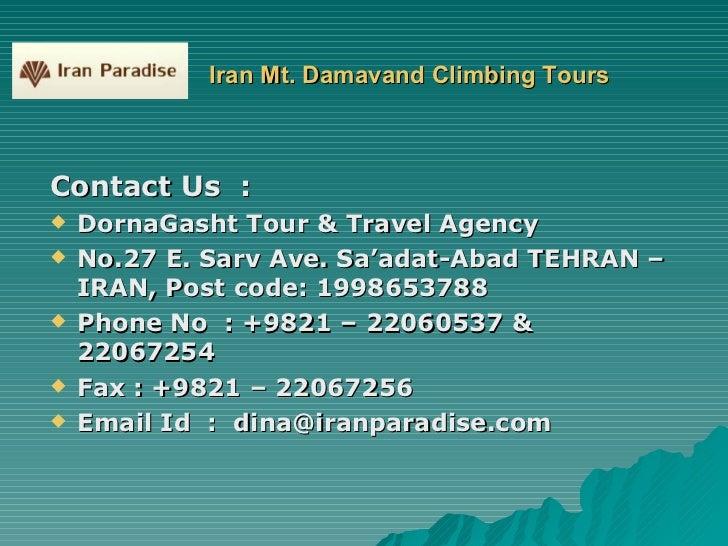 Tehran Tour Operators