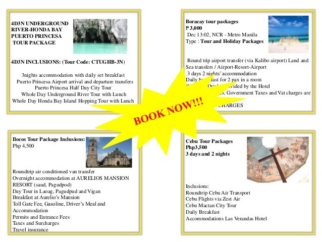 Self Tour Packages Presentation