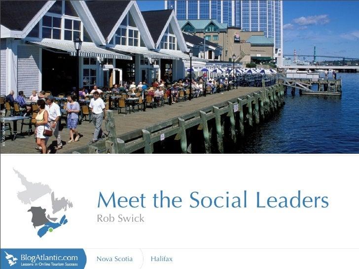 http://www.vte.qc.ca                            Meet the Social Leaders                        Rob Swick                  ...