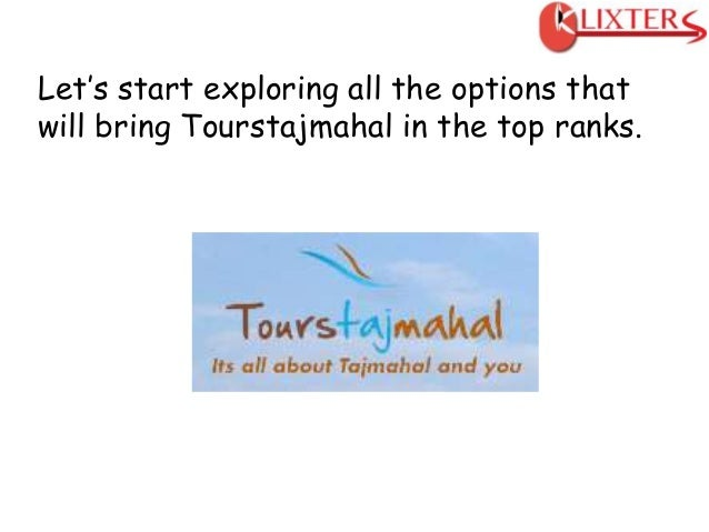 Travel and Tourism Website Online Marketing Plan. Slide 3