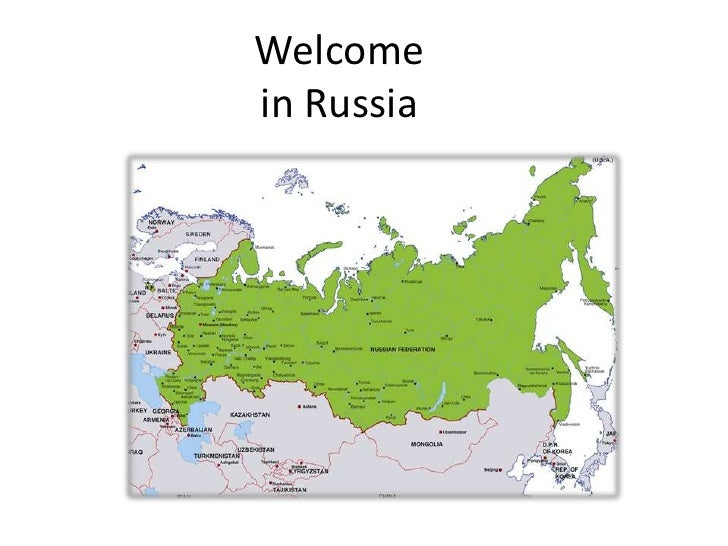 Welcomein Russia