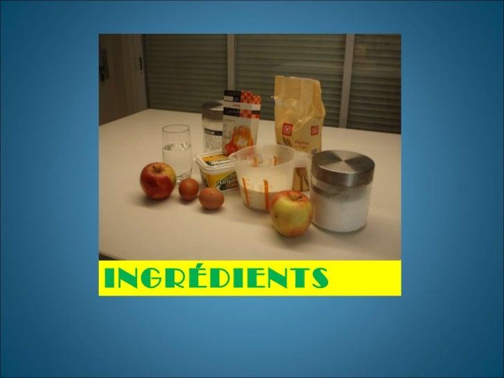 Tourte aux pommes. pablo Slide 3
