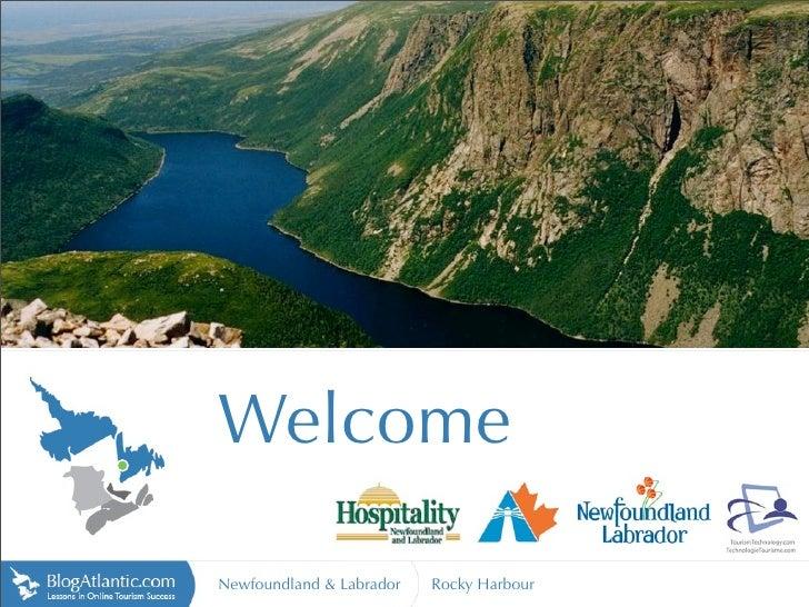 Welcome  Newfoundland & Labrador   Rocky Harbour