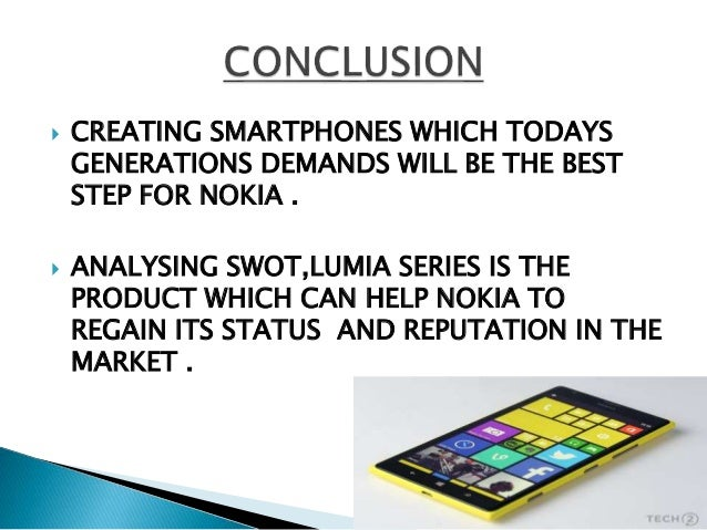 nokia swot analysis Nokia is a finnish multinational communications company nokia produce mobile electronic devices, mainly mobile phones finland is a small country that has good political environment and will not get involved in the international political disputes finland maintains good international relations with other countries of the.