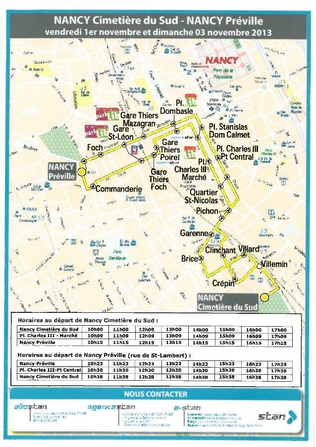 Toussaint plan bus