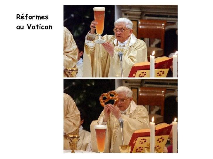 Réformes  au Vatican