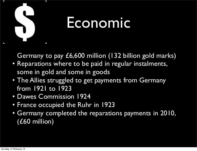 the economical status of germany after the world war one But attempting to live up to it seemed to involve an eagerness to court and welcome the risks of war no one  world war i germany  world war i, the world.