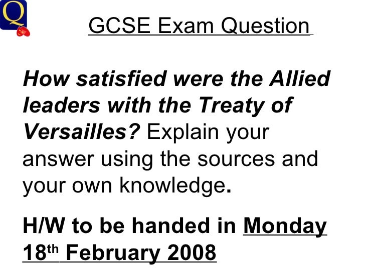was the treaty of versailles too harsh on germany essay Versailles treaty on germany essay was the treaty of versailles too harsh on germany treaty of versailles igcse notes the treaty of versailles.