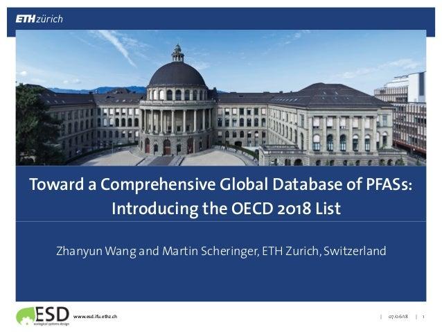 |!|!www.esd.ifu.ethz.ch! ! Zhanyun Wang and Martin Scheringer, ETH Zurich, Switzerland! 07/06/18! 1! Toward a Comprehensiv...