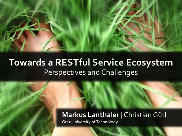 © Louise Docker <br />Towards a RESTful Service Ecosystem<br />Perspectives and Challenges<br />Markus Lanthaler | Christi...
