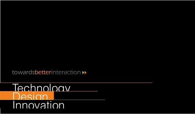 Design Innovation Technology