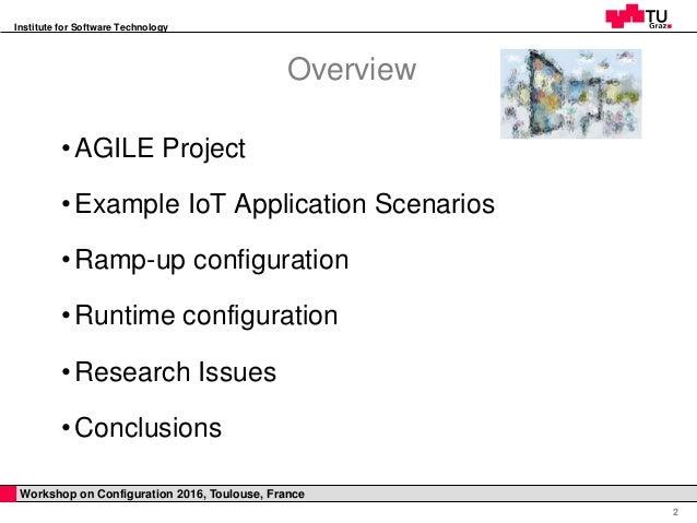 Towards Configuration Technologies  for IoT Gateways Slide 2