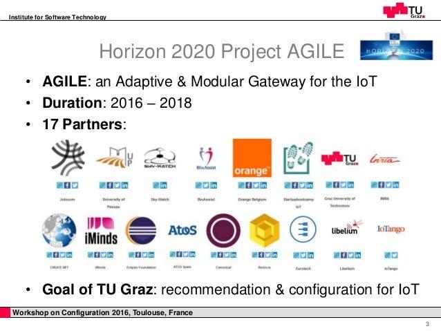 Towards Configuration Technologies  for IoT Gateways Slide 3