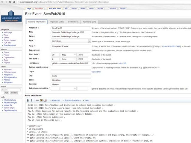 SlideWiki – A collaborative OpenCourseWare Authoring Platform • Collaborative creation and maintenance of high-quality, mu...
