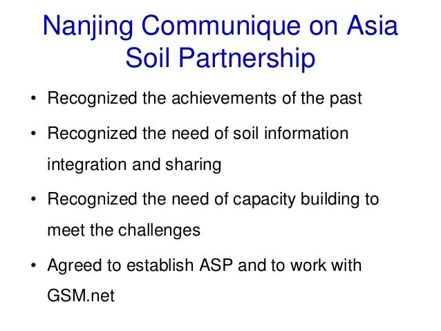 Status of soil information in asia ganlin zhang and for Soil pictures and information