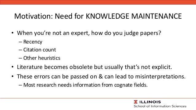 Towards knowledge maintenance in scientific digital libraries with the keystone framework -jcdl2020--2020-08-02 Slide 2