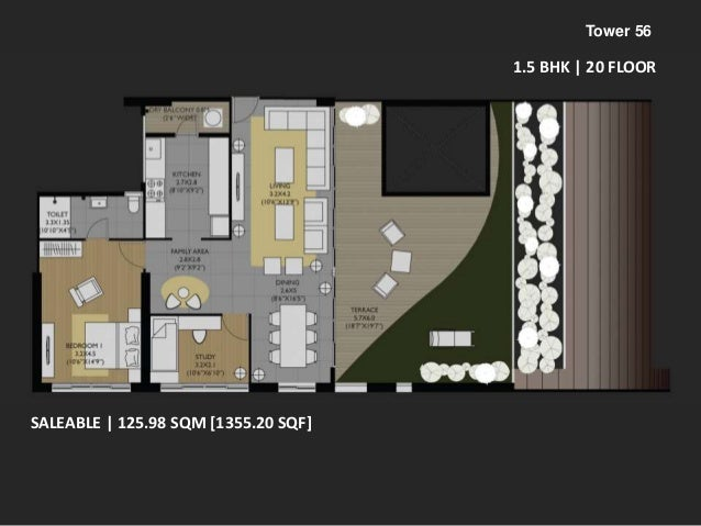 Studio Apartment Amanora amanora future towers 56 floor plans