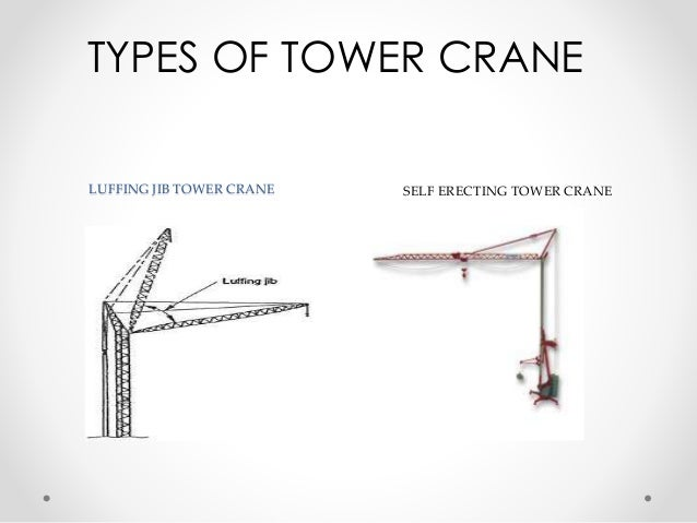 Tower Crane Design Calculations : Tower crane