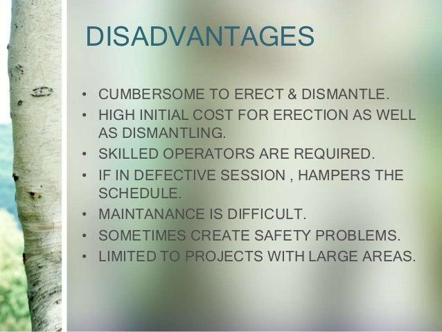 Tower Crane Advantages And Disadvantages : Tower cranes