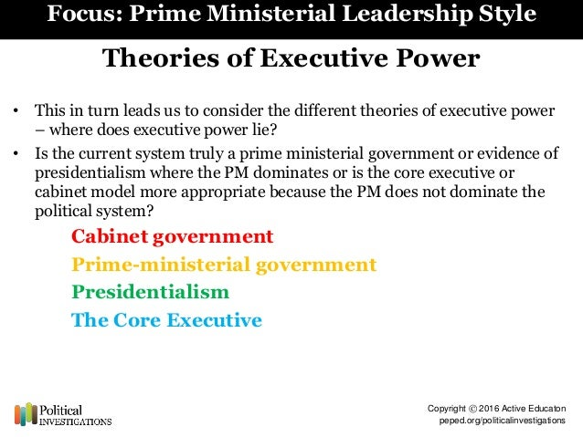 To what extent has the power of the Prime Minister increased in recent years?