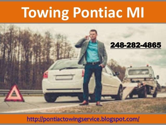 http://pontiactowingservice.blogspot.com/ 248-282-4865 Towing Pontiac MI