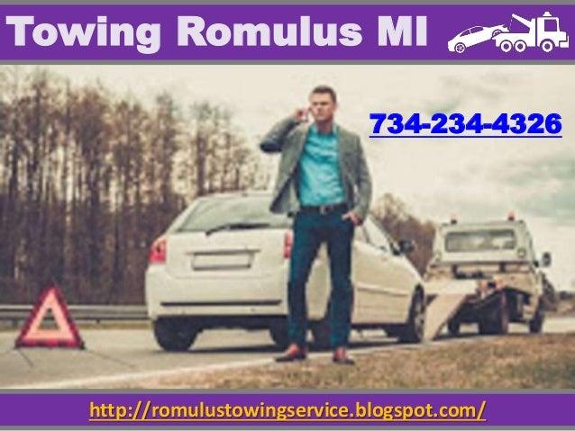 http://romulustowingservice.blogspot.com/ Towing Romulus MI 734-234-4326