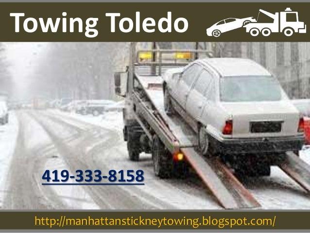 http://manhattanstickneytowing.blogspot.com/ 419-333-8158 Towing Toledo