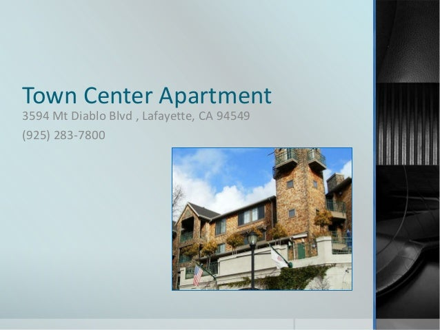 Town Center Apartments For Rent In Lafayette